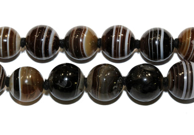 Victorian Banded Agate Necklace
