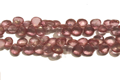 Natural Pink Topaz Necklace