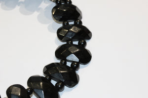 Victorian Whitby Jet Collar Necklace