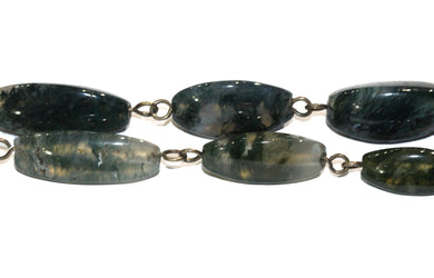 Victorian Moss Agate Necklace