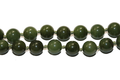Vintage Nephrite Jade Necklace