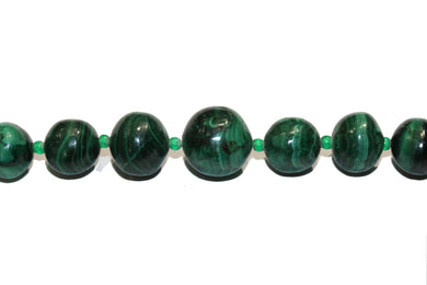 Vintage Malachite Necklace