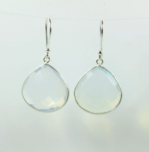 Sterling Silver Opalite Earrings