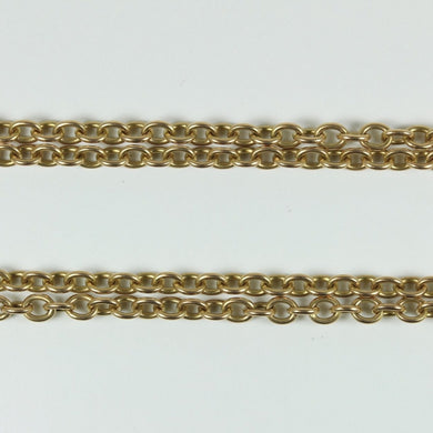 Antique 15ct Gold Linked Chain Necklace