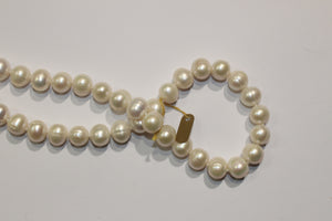 Semi-Baroque Pearl Necklace