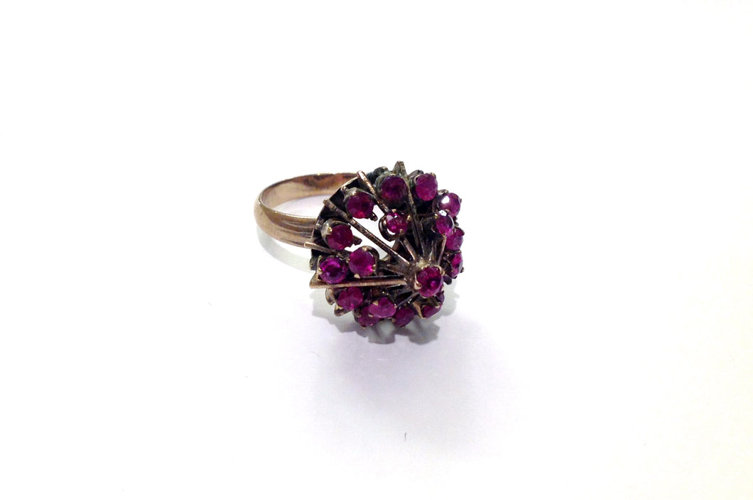 Princess Ruby Dome Ring