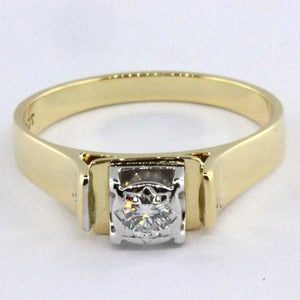 1960's Vintage Diamond Engagement Ring