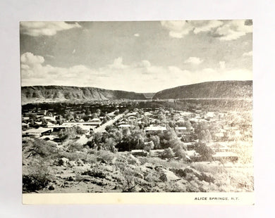 Alice Springs N.T. Postcard