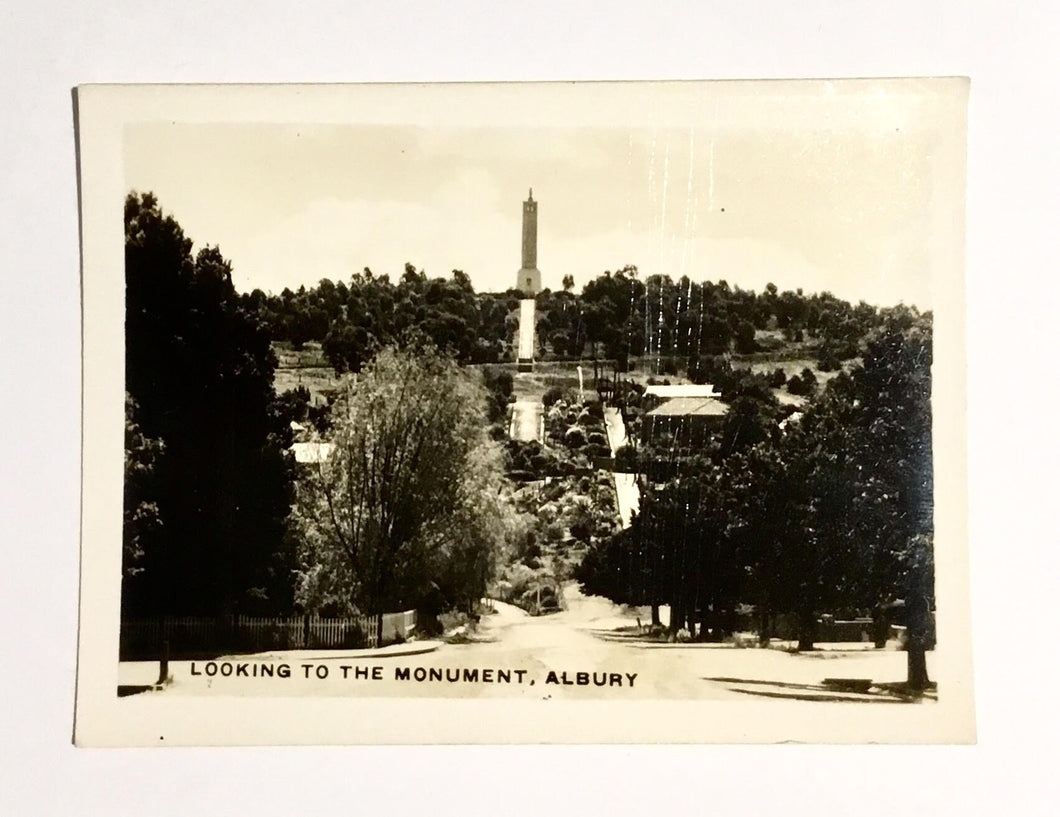 Looking to the Monument, Albury