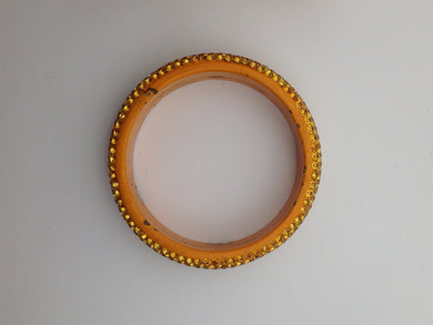 Orange Resin Bangle