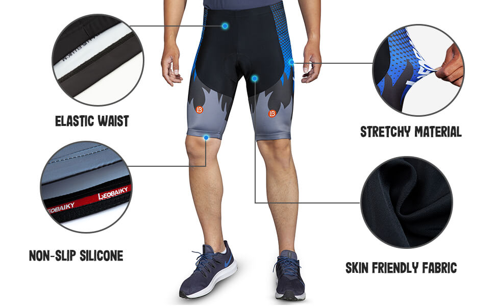 Men's Cycling shorts Tight W/Liner 04 details