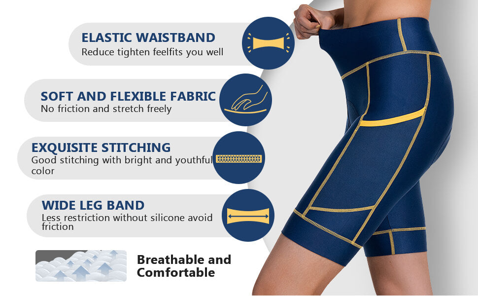 Women's Cycling Shorts Tight W/Liner 02 details