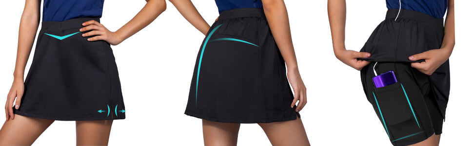 Women's Cycling Skirt W/Liner details