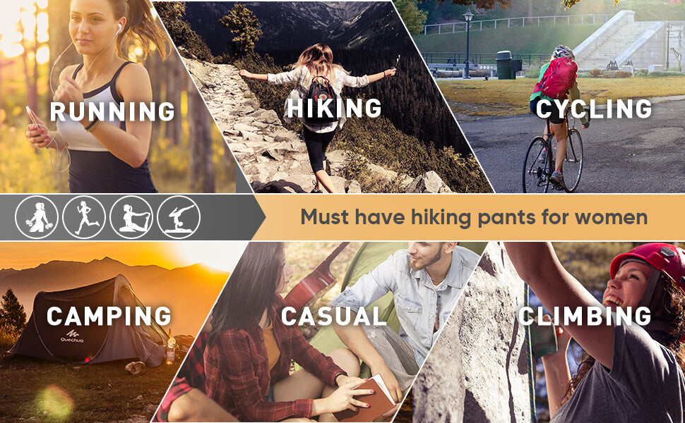 women hiking pants suitable for many occasions