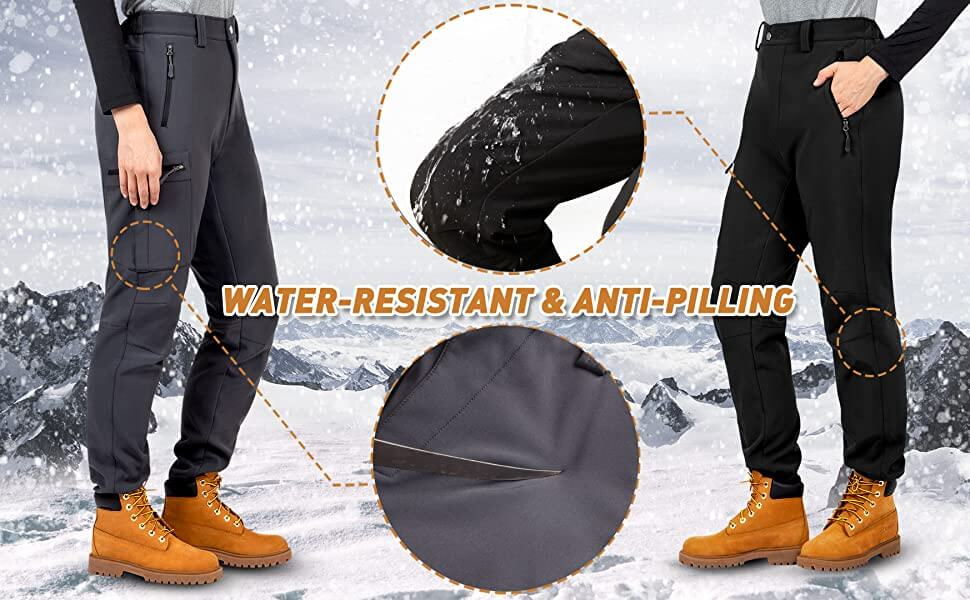 water resistant and anti pilling