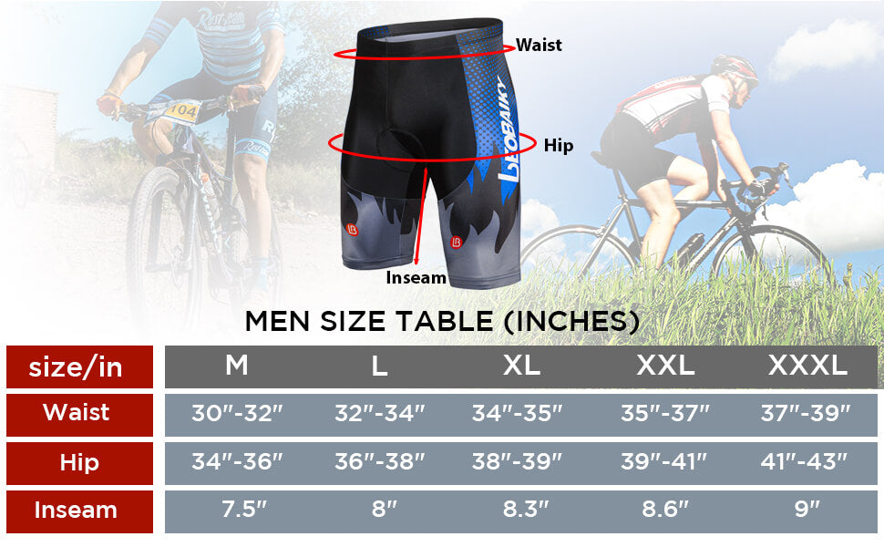 Men's Cycling shorts Tight W/Liner 04 size
