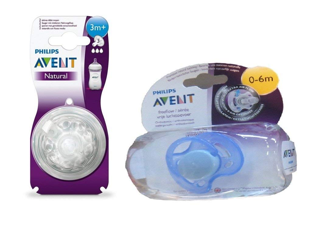 Teats A1 Quality Store Philips Avent New Natural Skin Soft Nipple 2 Pack Medium Flow 3m Teat 3 Holes Months 2pc