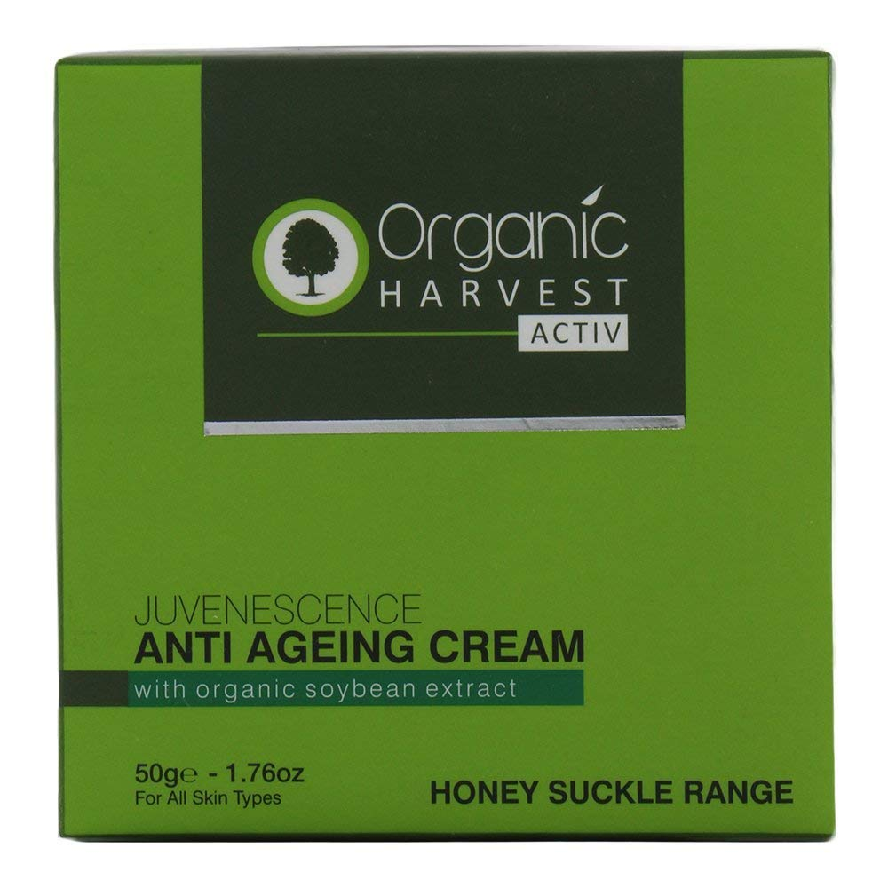 Organic Harvest Honey Suckle Range Active Anti Ageing Cream 50g Olay Total Effects 7in1 Serum 50ml A1 Quality Store