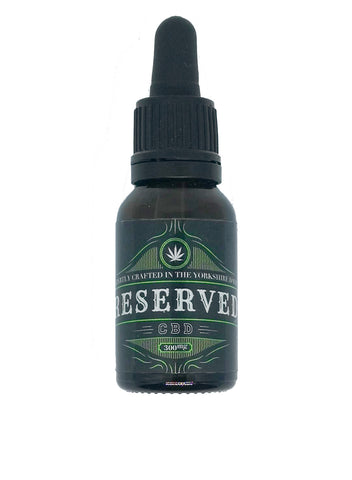 Reserved Vapes 10ml 300:30 CBD:CBG ELiquid