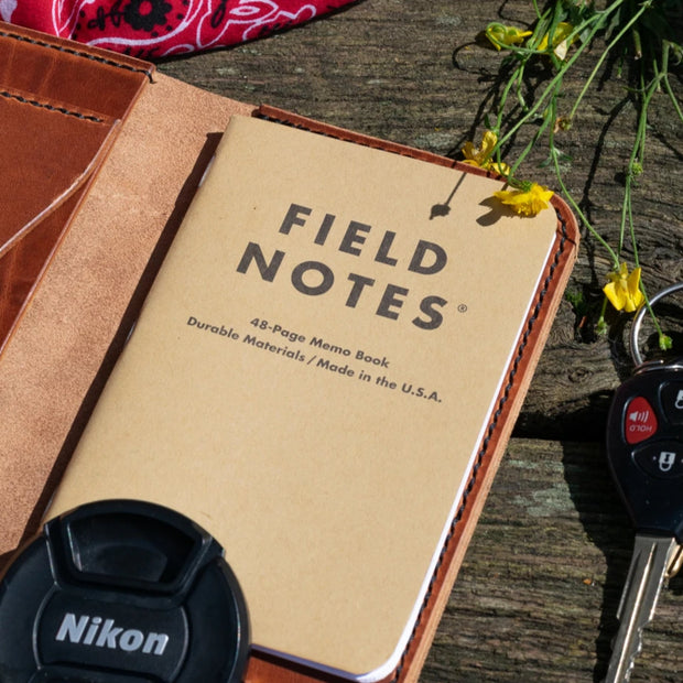 Perkiomen - Field Notes Wallet - Caliber Leather Company