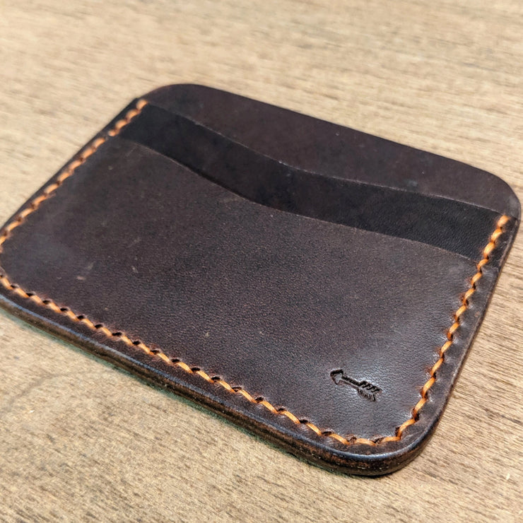 Old Riley - 3 Slot Leather Card Wallet - Caliber Leather Company