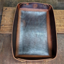 Load image into Gallery viewer, Leather Catch-all Valet Tray - Caliber Leather Company