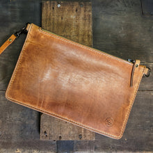 Load image into Gallery viewer, Jessica - Leather Clutch Wallet - Caliber Leather Company