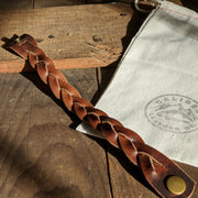 Leather Braided Bracelet - Caliber Leather Company