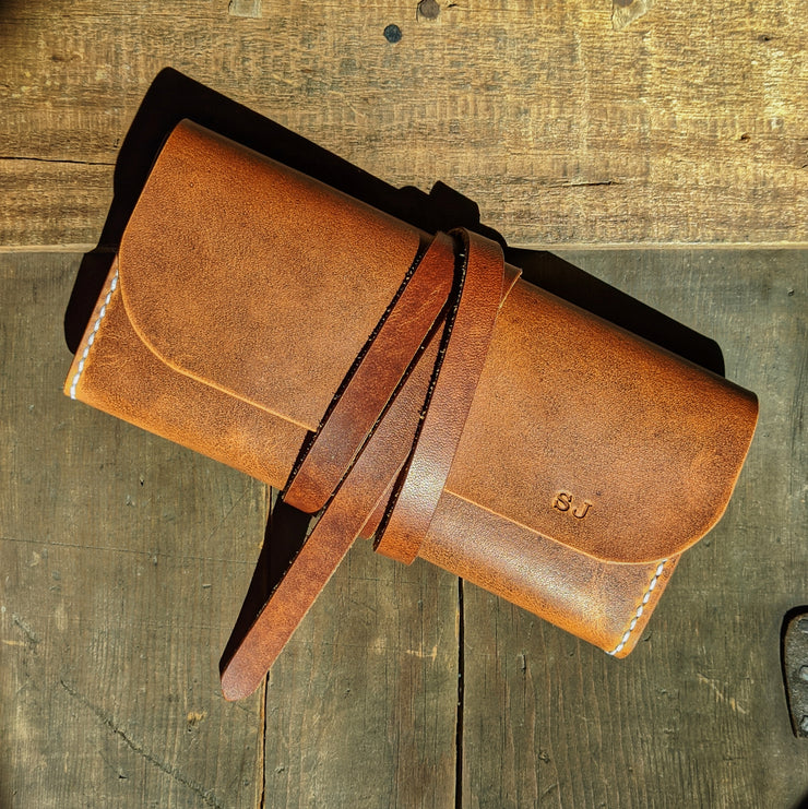 Tuscarora - Small Leather Clutch Purse - Caliber Leather Company