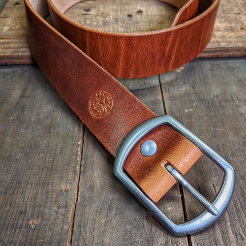 Leather Belt - Horween Dublin - Caliber Leather Company