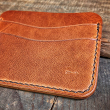 Load image into Gallery viewer, Riley - Card Wallet Money Clip - Caliber Leather Company
