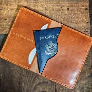 Delaware River - Passport Travel Wallet - Caliber Leather Company