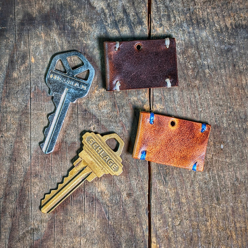 Leather Key Cover - Standard Key Cap - Caliber Leather Company