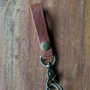 Kirchberg - Leather key chain - Caliber Leather Company