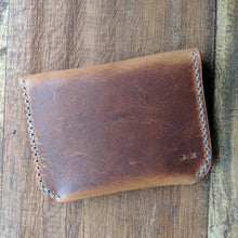Load image into Gallery viewer, Lenape - Leather Card Wallet / Coin Purse - Caliber Leather Company