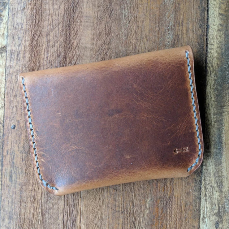 Lenape - Leather Card Wallet / Coin Purse - Caliber Leather Company