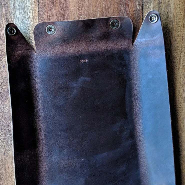 Leather Catch-all Valet Tray - Caliber Leather Company
