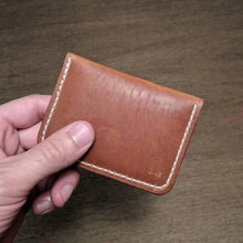 Load image into Gallery viewer, Green Lane - Small Snap Wallet - Caliber Leather Company