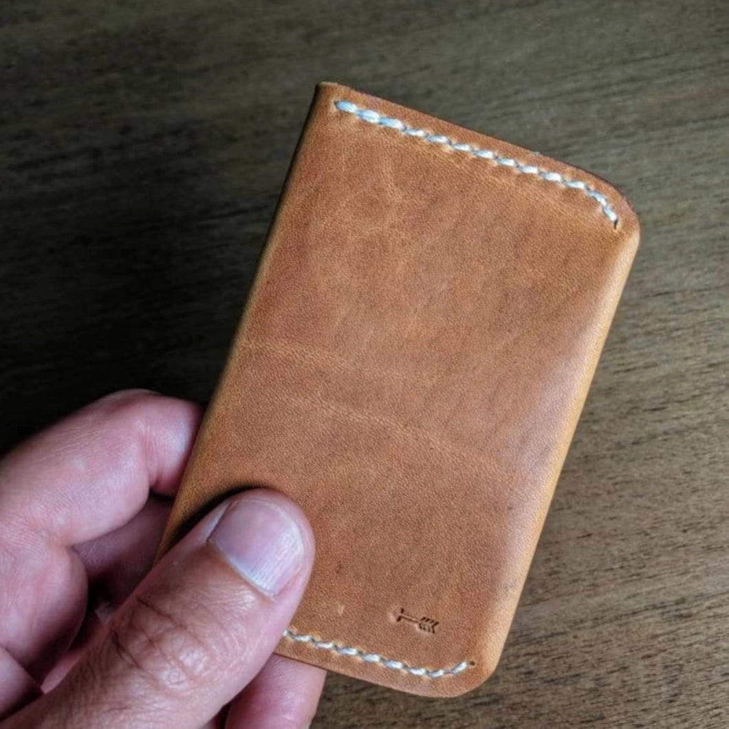 Oil Creek - Bi-fold front pocket card wallet - Caliber Leather Company