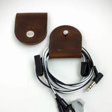 Load image into Gallery viewer, Headphones Holder - Cord Keeper - Caliber Leather Company