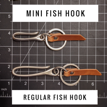 Load image into Gallery viewer, Hemlock - Mini Japanese Fish Hook - Caliber Leather Company