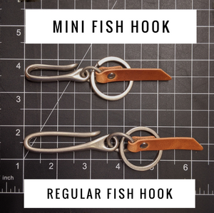 Hemlock - Mini Japanese Fish Hook - Caliber Leather Company