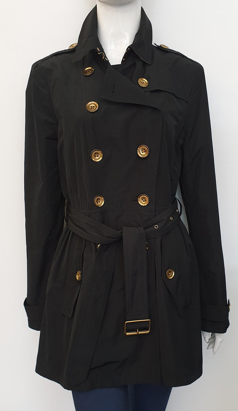 LIGHTWEIGHT BLACK TRENCH