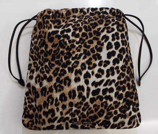 FAILLE LEOPARD PRINT BAG