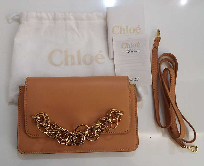 CHLOE SMALL DREW BIJOUX CLUTCH