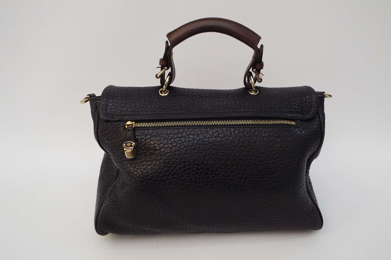 Polly Push Lock Satchel