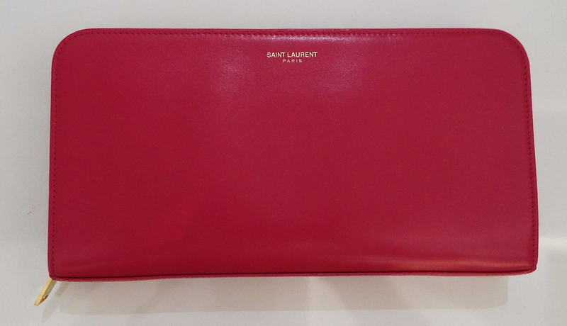 SAINT LAURENT LARGE PURSE WALLET