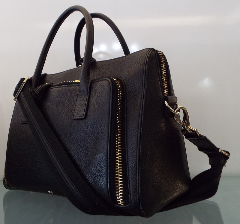 MAXI ZIP TOP HANDLE BAG
