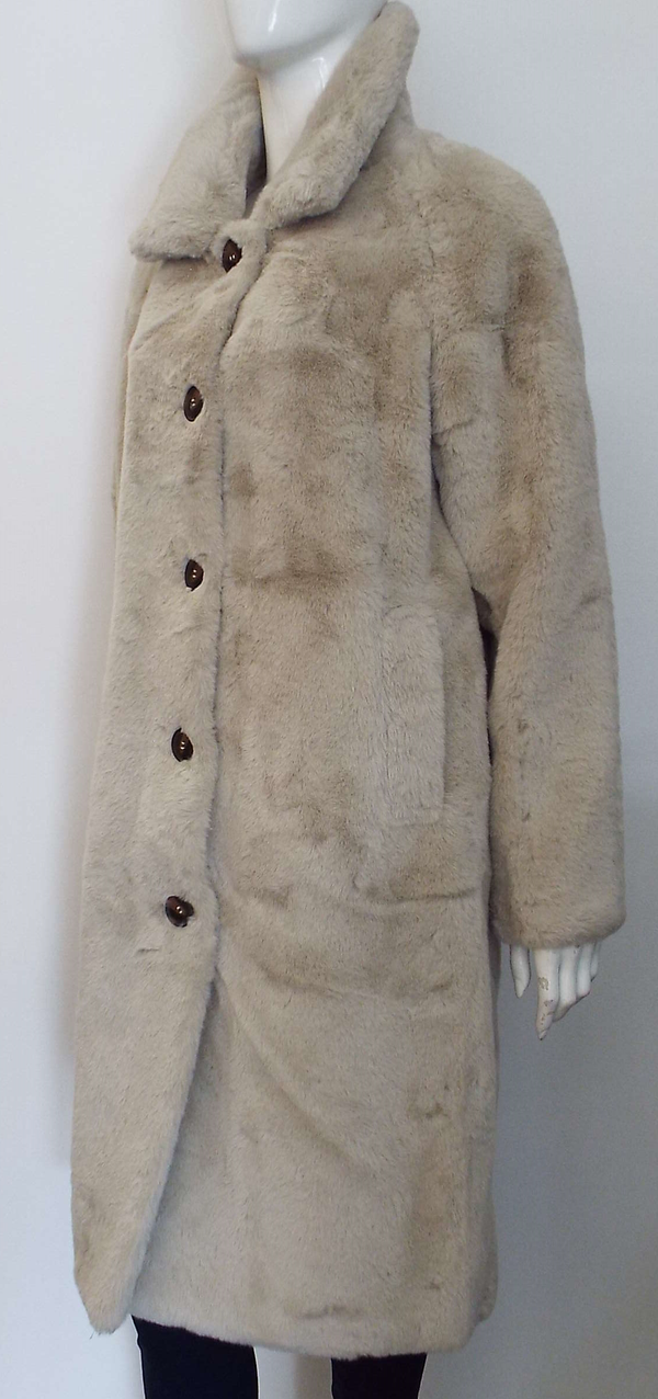 ZONNA FAUX FUR COAT
