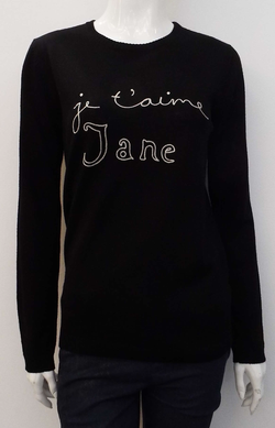 JE T'AIME JANE MERINO WOOL SWEATER